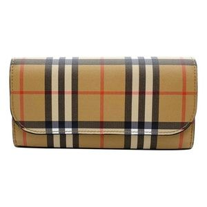 Burberry Brown Haymarket House Check Continental